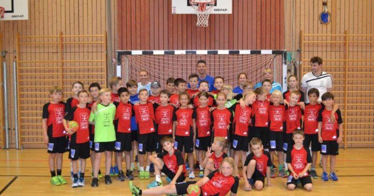 Kleines Jubiläum beim fünften Handballcamp!