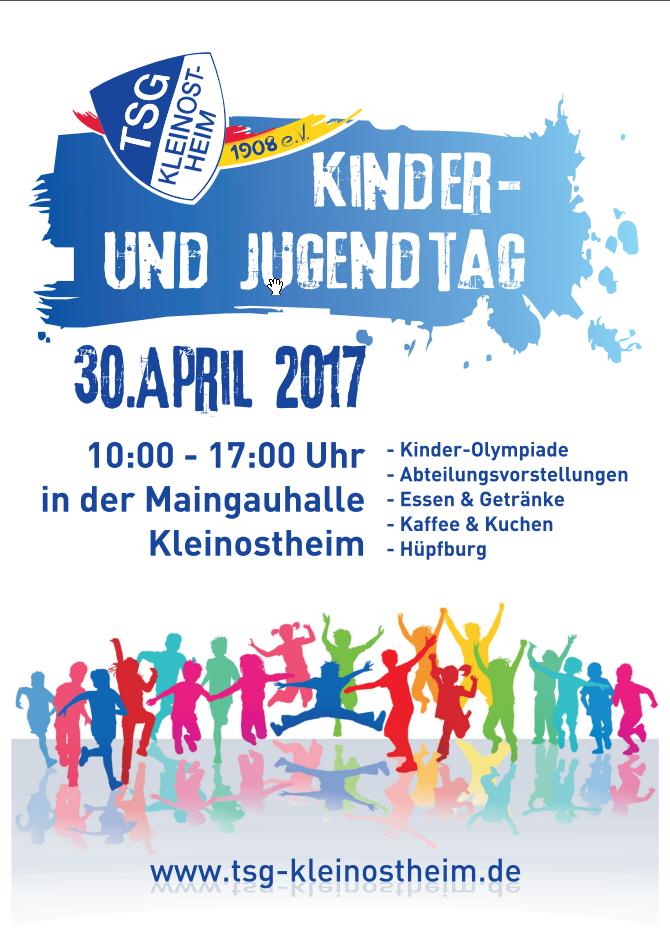 TSG Kinder und Jugendtag am 30.4.