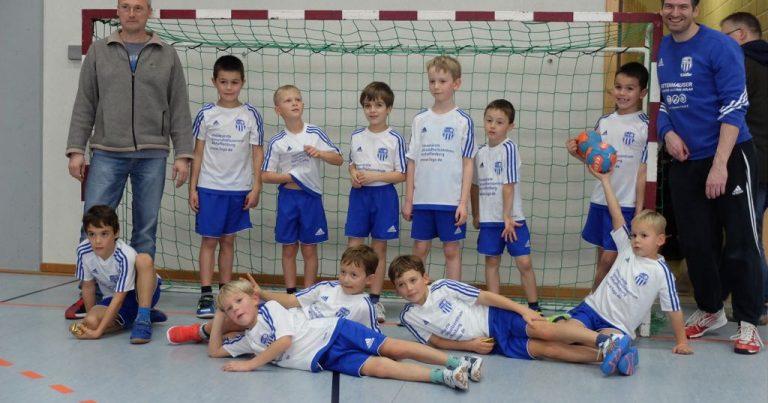 Minis Kahl: Gute Mannschaftsleistung beim Turnier des TV Kirchzell