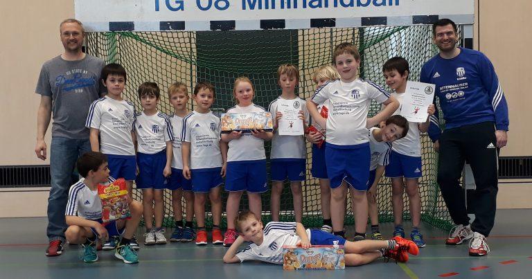 Mini 1er Kahl: Viel Erfolg beim Turnier im benachbarten Hörstein