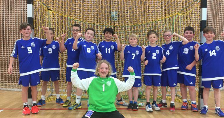 D-Jugend: Erster Sieg unserer neuen männlichen D-Jugend