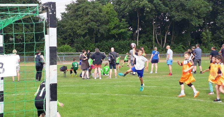 Männl. E-Jugend Kahl: Handball Cup in Klein-Auheim endet mit 4. Platz