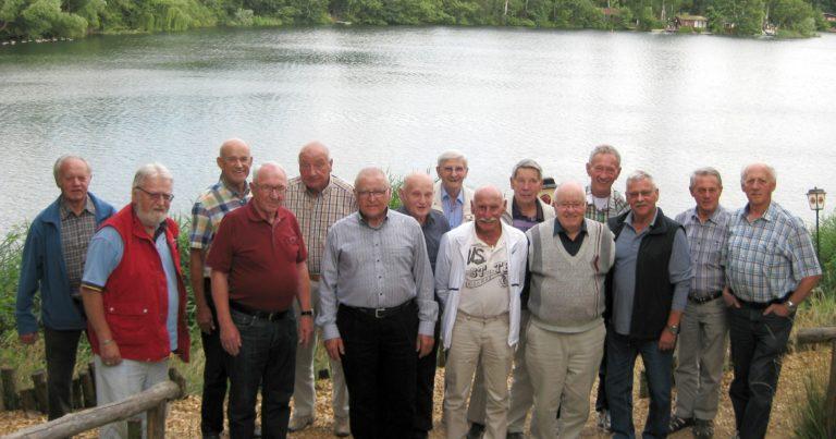 Treffen der ehemaligen Handballer des TV Kahl