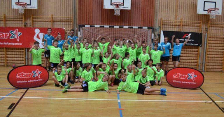 Subtropische Temperaturen und viel Spaß beim diesjährigen Handballcamp