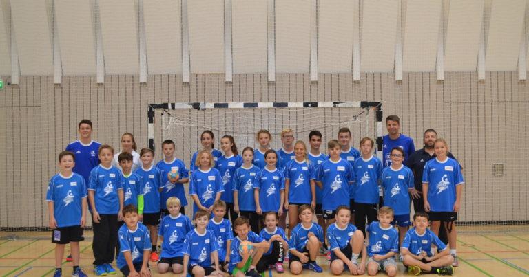 Youngster Handball-Camp voller Erfolg!