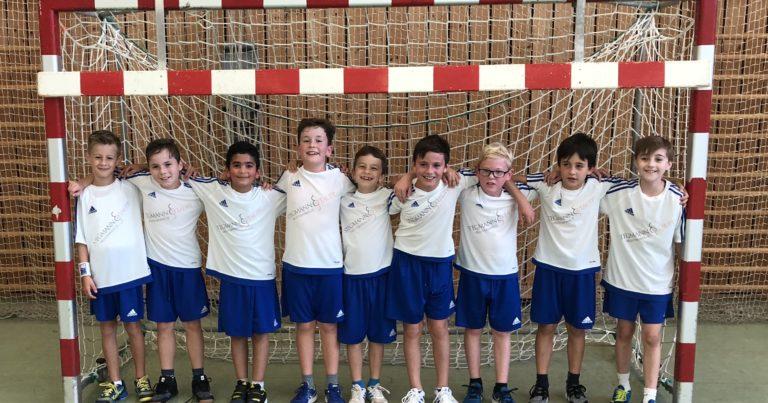 Männl. E-Jugend III: Tolle Mannschaftsleistung wird belohnt