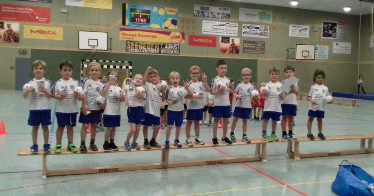 Minis Kahl: Erfolgreiches Mini-Anfänger Turnier in Babenhausen