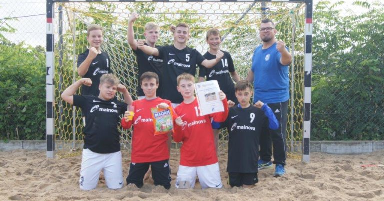 Männl. C-Jugend: Beach-Turnier Haibach