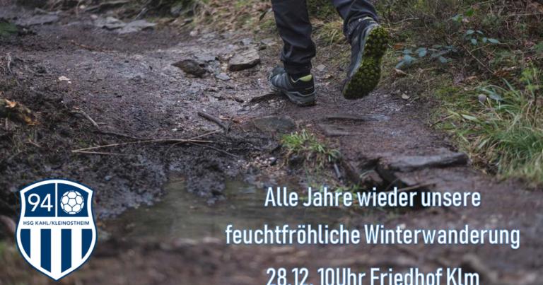 Trad. 94er Wandertour am 28.12.