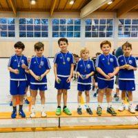 Mini 1er: Erfolgreich beim Turnier in Haibach
