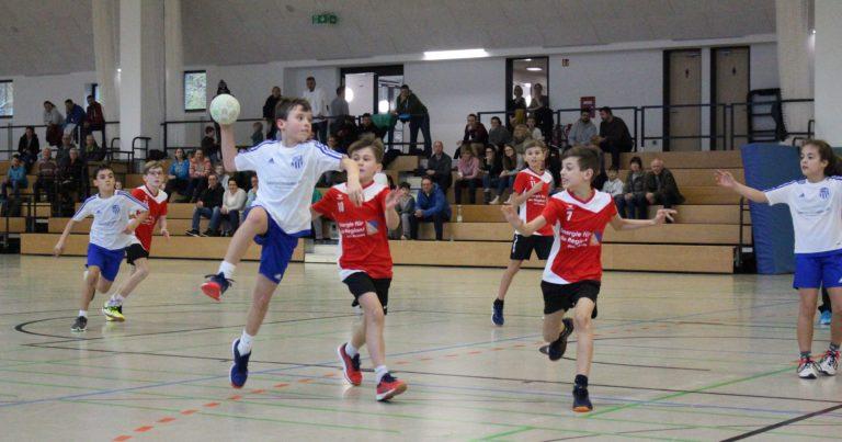 Männl. E-Jugend I: HSG lässt die Punkte im Odenwald