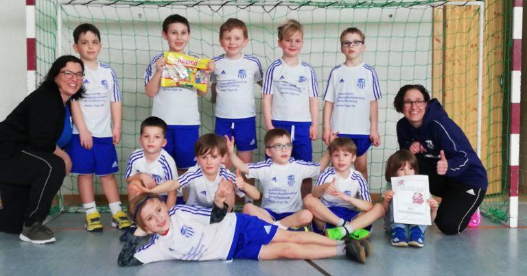 Minis Kahl: Ohne Niederlage in Kirchzell