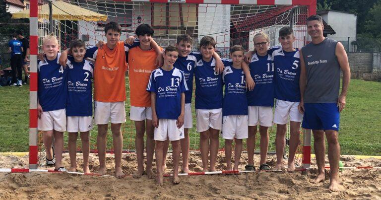 Männl. C-Jugend beim HHV Beach-Series 2021